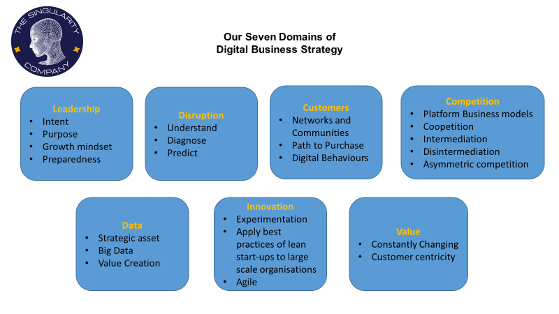 7 Domains of Digital Business Strategy